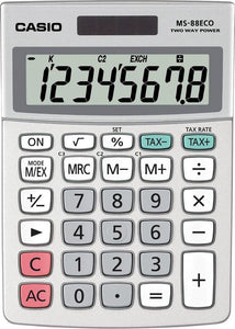 Casio MS-88 ECO - Rekenmachine, Casio