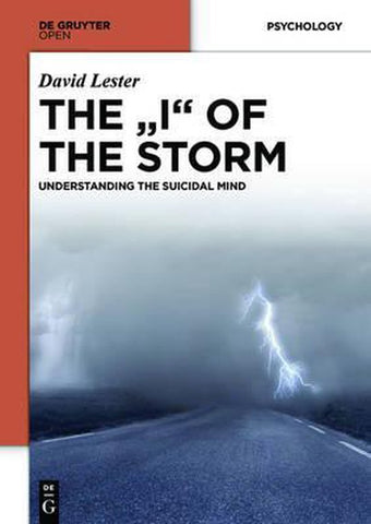 THE I OF THE STORM, David, Phd. Lester