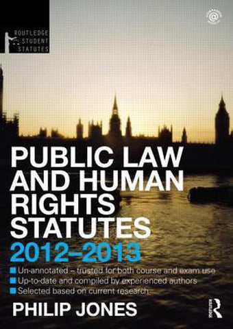 Public Law and Human Rights Statutes, Philip Jones
