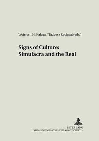 Signs of Culture, Peter Lang Ag