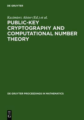 Public-Key Cryptography and Computational Number Theory, De Gruyter