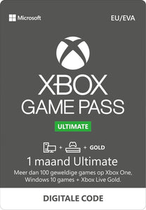 Xbox Game Pass Ultimate Online - 1 maand, Microsoft