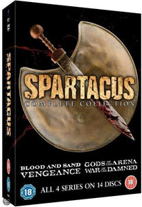 Spartacus - Complete Collection (Import), Merkloos