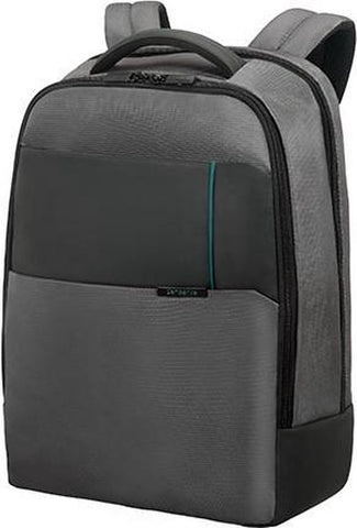 Samsonite Qibyte - Laptop Rugzak - 17,3 inch - Grijs, Samsonite