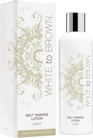 Whitetobrown Self Tanning Lotion Light - 250ml - Zelfbruiner, Whitetobrown