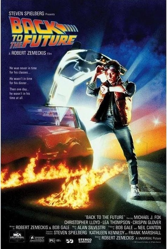 BACK TO THE FUTURE - Poster 61X91 - One Sheet, Merkloos