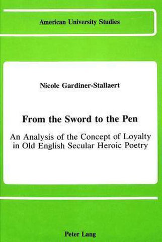 From the Sword to the Pen, Nicole Gardiner-Stallaert
