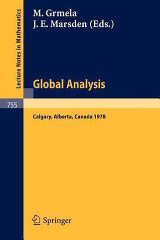 Global Analysis, Springer