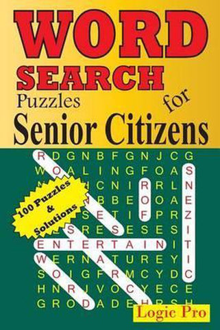 Word Search Puzzles for Senior Citizens, Logic Pro