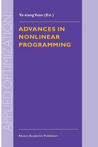 Advances in Nonlinear Programming, YA-Xiang Yuan