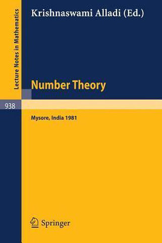 Number Theory, Springer