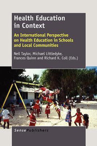 Health Education in Context, Sense Publishers