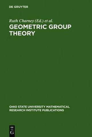 Geometric Group Theory, Ruth Charney