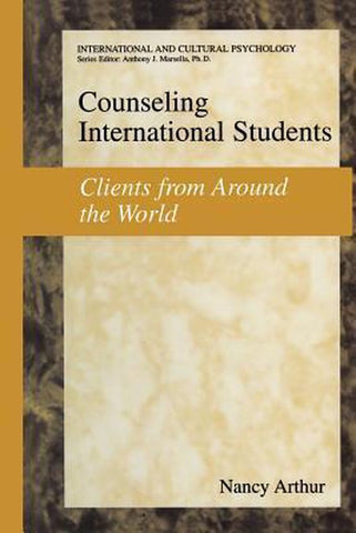Counseling International Students, Nancy Marie Arthur