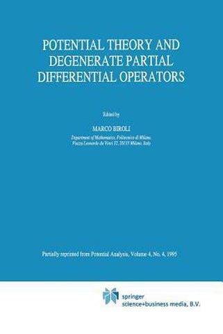 Potential Theory and Degenerate Partial Differential Operators, Springer