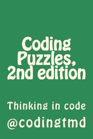 Coding Puzzles, 2nd Edition, Codingtmd
