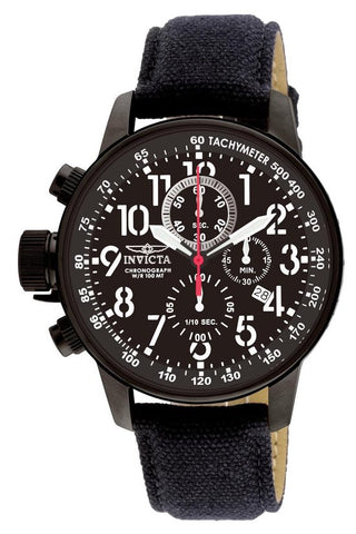 Invicta I-Force 1517 horloge - Mannen - Zwart - Ø 46 mm, INVICTA