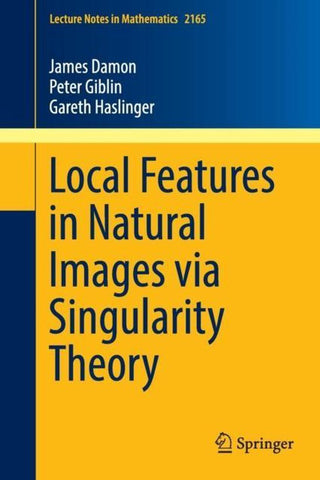 Local Features in Natural Images via Singularity Theory, James Damon
