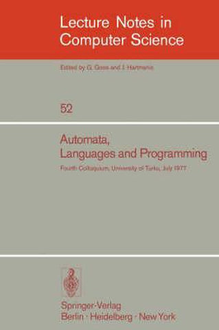 Automata, Languages and Programming, Springer
