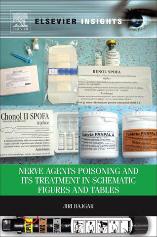 Nerve Agents Poisoning and its Treatment in Schematic Figures and Tables, Jiri Bajgar