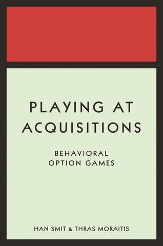 Playing at Acquisitions: Behavioral Option Games, Thras Moraitis