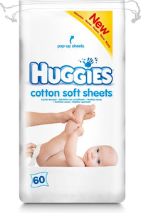 Huggies d.doekjes cotton soft 60 st, Huggies