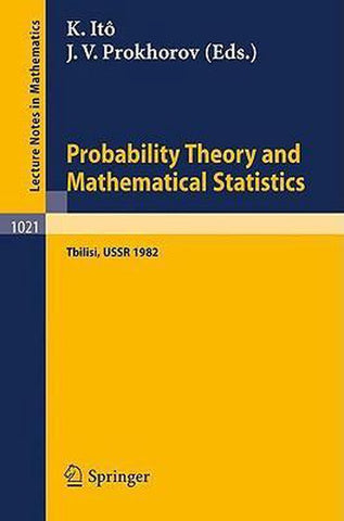 Probability Theory and Mathematical Statistics, Springer
