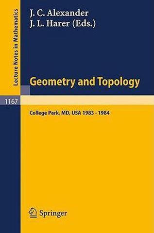 Geometry and Topology, Springer