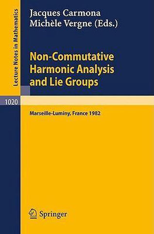 Non Commutative Harmonic Analysis and Lie Groups, Springer