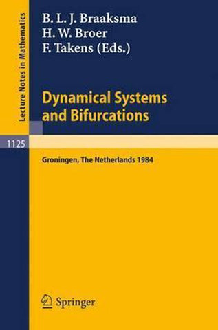Dynamical Systems and Bifurcations, Springer