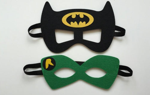 Batman & Robin Party Masks, Batman & Robin Party Favors