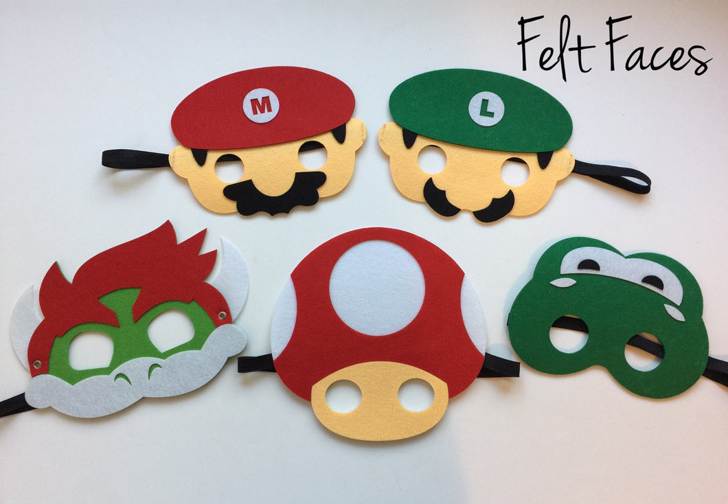 Brothers Party Masks,Brothers Party Favors, Brothers Party Supplies