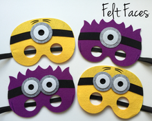 Minion Party Masks, Despicable Me Party Favors