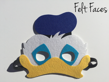 Donald Duck Party Masks, Donald Duck Party Favors, Donald Duck Party Ideas, Mickey Mouse Clubhouse Party Ideas