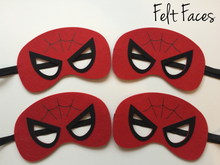 SpiderMan Party Masks, Spiderman Party Favors, Spiderman Themed Party Ideas