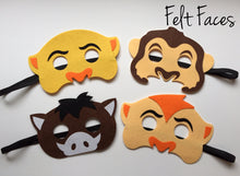 Jungle Animal Masks, Lion King Party Ideas, Zoo Animal Party