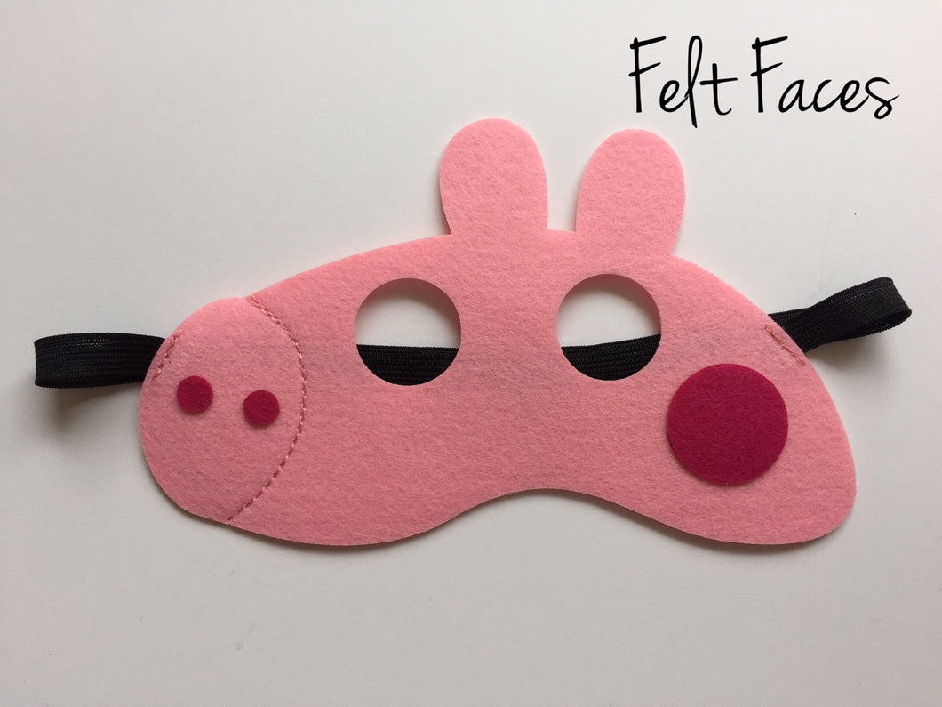 Peppa Pig Party Mask, Peppa Pig Party Ideas, Peppa Pig Party Favors