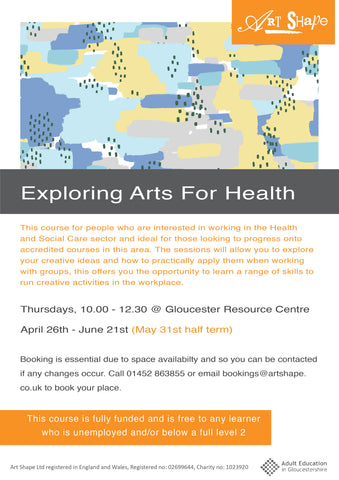Exploring Arts for Health