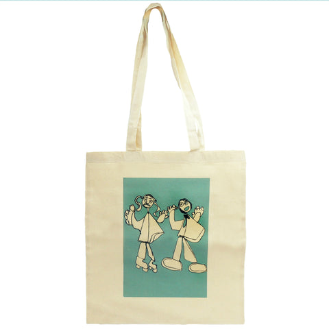 Dancing Ladies Tote Bag