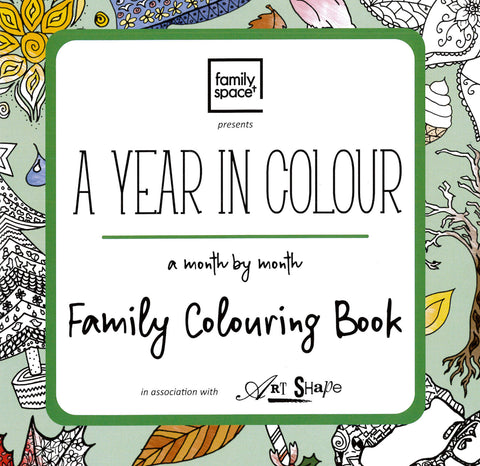 Family Space Colouring Book