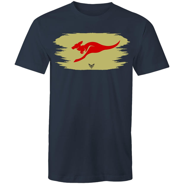 Ogo Merch Navy / Small Spartac Red Kanga Khaki T-Shirt - Assorted Colours
