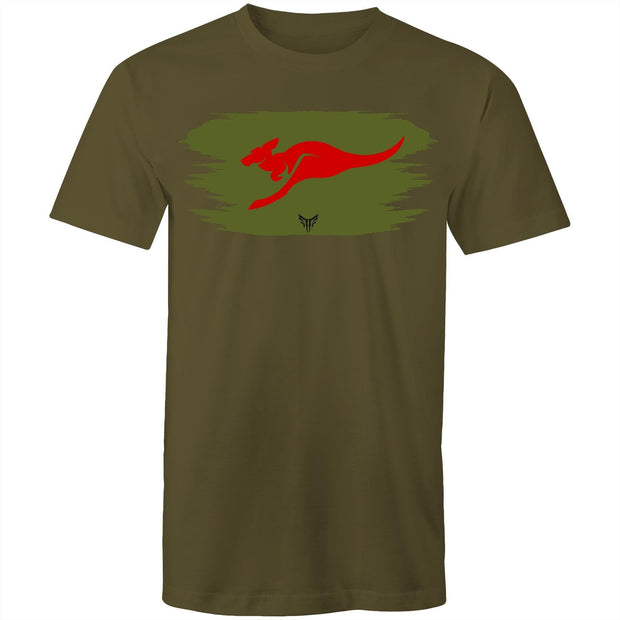 Ogo Merch T-shirt Army Green / Small Spartac Red Kanga OD T-Shirt - Assorted Colours