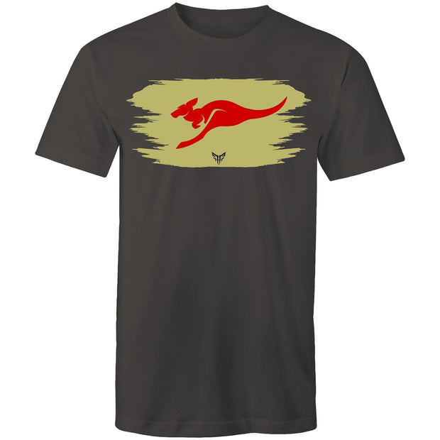 Ogo Merch T-shirt Charcoal / Small Spartac Red Kanga Khaki T-Shirt - Assorted Colours