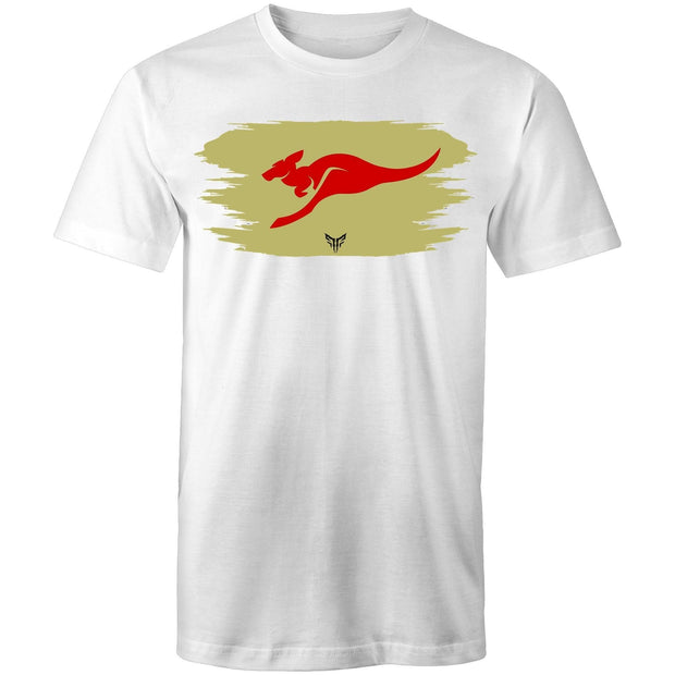Ogo Merch T-shirt White / Small Spartac Red Kanga Khaki T-Shirt - Assorted Colours