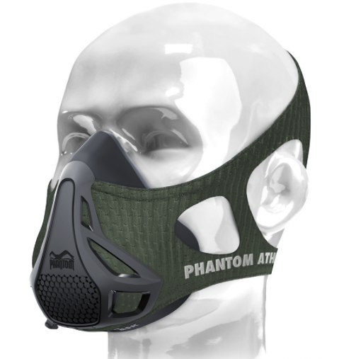 Phantom Athletics Gym Equipment Small Phantom Training Mask Sleeve (Olive)