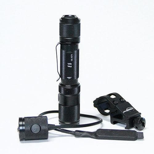 Powertac flashlight PowerTac E5 Gen4 - 980 Lumen LED Weapon Package