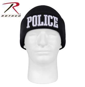 Rothco beanie Rothco Deluxe Police Embroidered Beanie