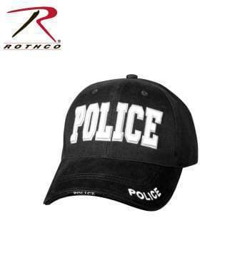 Rothco cap Black Rothco Deluxe Police Low Profile