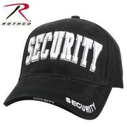 Rothco caps Black/White Rothco Security Deluxe Low Profile Cap