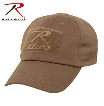 Rothco caps Coyote Brown Tactical Operator Cap PLUS Patch Combo (Various options)